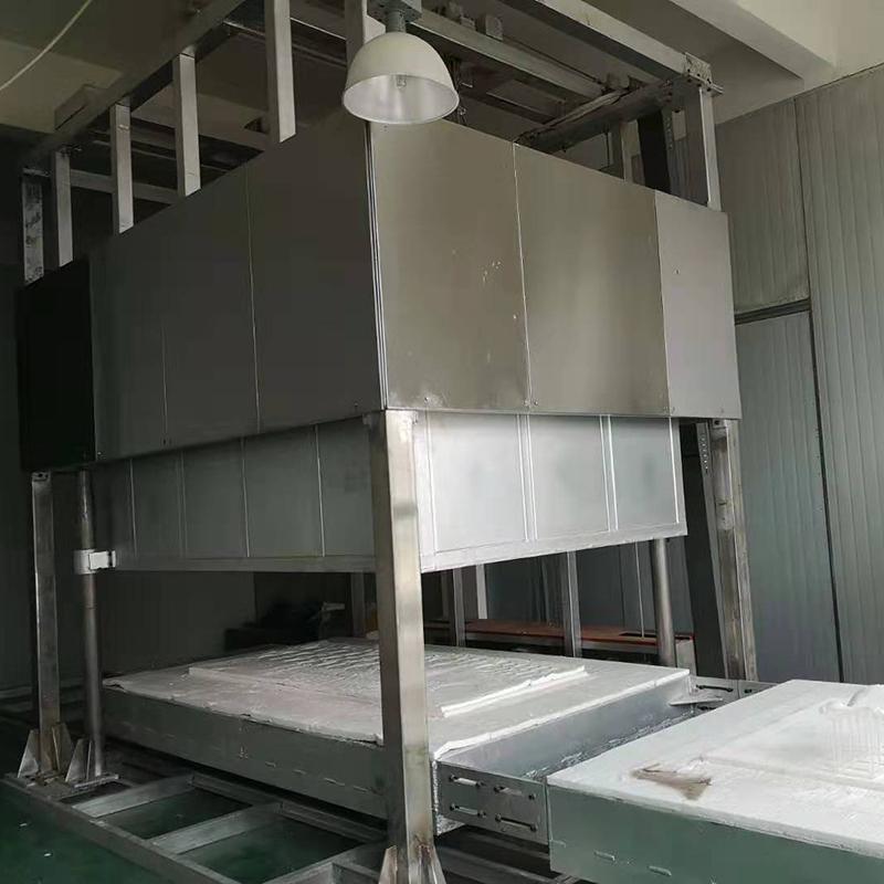 郑州双工位钟罩式石英退火炉